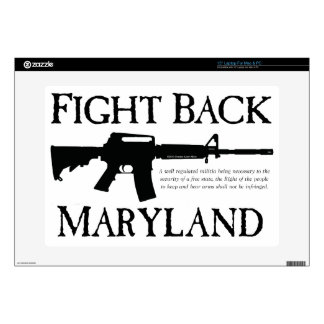 FIGHT BACK MARYLAND DECALS FOR LAPTOPS