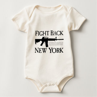 Fight Back New York Apparel Baby Bodysuit