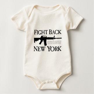 Fight Back New York Rebellion Ware Baby Bodysuit