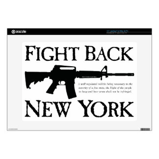 Fight Back New York Rebellion Ware Decal For Laptop