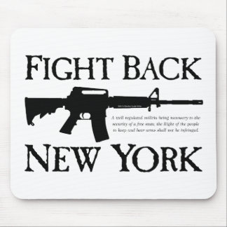 Fight Back New York Rebellion Ware Mouse Pad