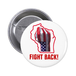 Fight Back! Pinback Button