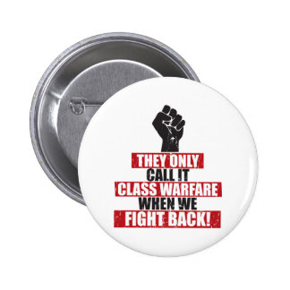 Fight Back Pinback Button
