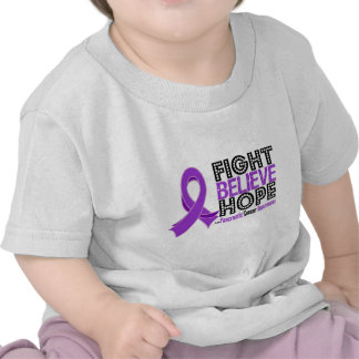 Fight Believe Hope - Pancreatic Cancer T-shirt