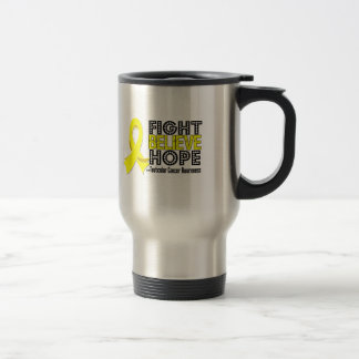 Fight Believe Hope - Testicular Cancer Coffee Mugs