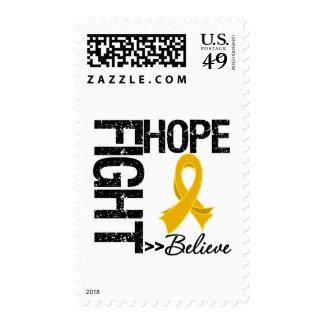 Fight Believe Hope v2 Appendix Cancer Stamps