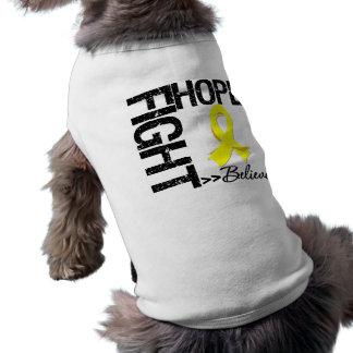 Fight Believe Hope v2 Bladder Cancer Tee