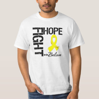 Fight Believe Hope v2 Sarcoma T-shirt