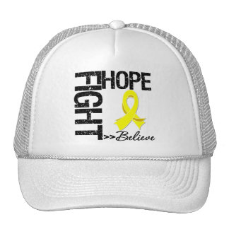 Fight Believe Hope v2 Sarcoma Trucker Hat