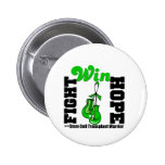 Fight Believe Win Stem Cell Transplant Warrior Buttons