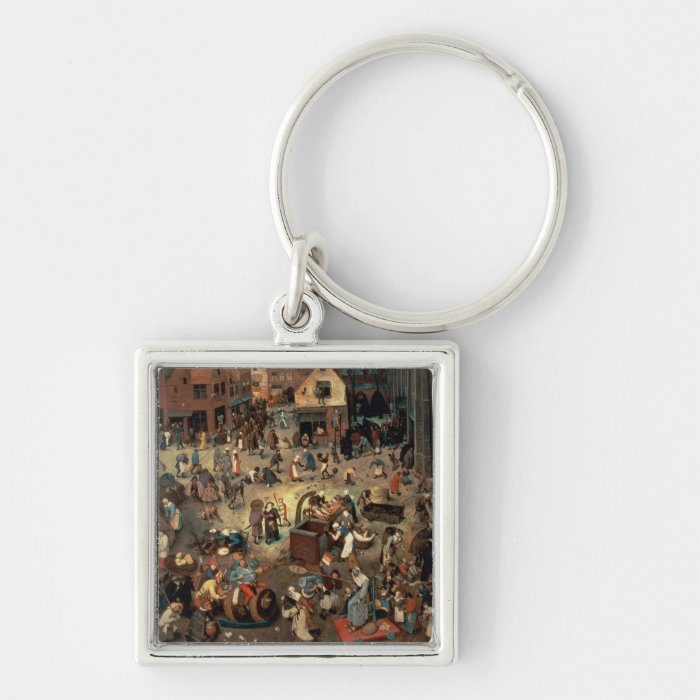 Fight between Carnival and Lent, 1559 Keychain