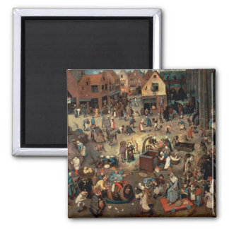 Fight between Carnival and Lent, 1559 Magnet