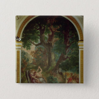 Fight between Jacob and the Angel, 1850-61 Pinback Button
