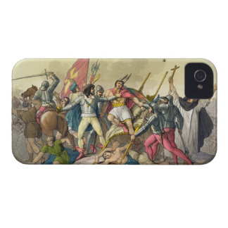 Fight Between Local Indians and Conquistadors (col Case-Mate iPhone 4 Case