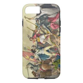 Fight Between Local Indians and Conquistadors (col iPhone 7 Case