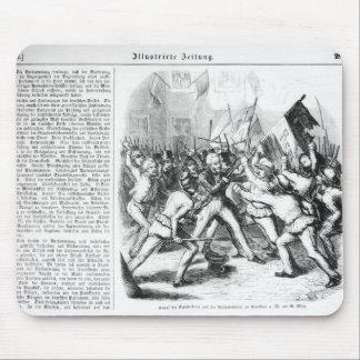 Fight between the Republicans & Parliament Mousepad