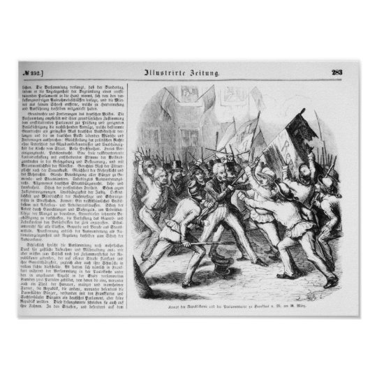 Fight between the Republicans & Parliament Poster