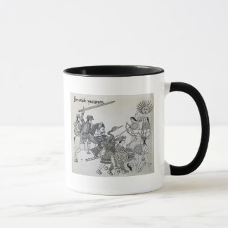 Fight between the Spanish and the Aztecs Mug