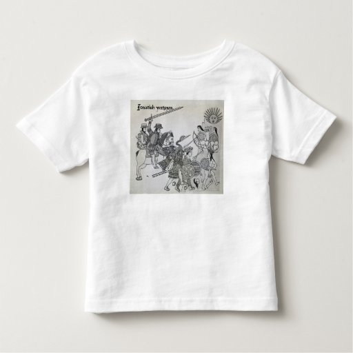 Fight between the Spanish and the Aztecs T Shirt