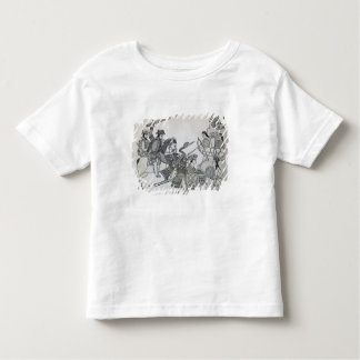 Fight between the Spanish and the Aztecs Toddler T-shirt