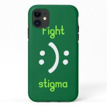 Fight bipolar Stigma iPhone 11 Case