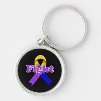 Fight Bladder Cancer Keychain