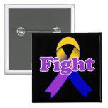 Fight Bladder Cancer Pinback Button