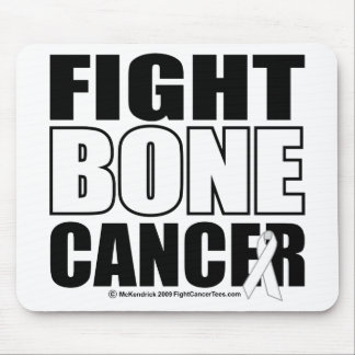 Fight Bone Cancer Mouse Pad