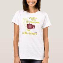 Fight Bone Cancer Spaghetti Strap T-Shirt