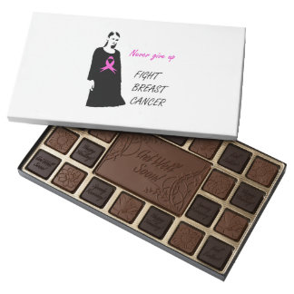 Fight breast cancer 45 piece box of chocolates