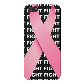 Fight Breast Cancer Awareness Ribbon Cover For iPhone SE/5/5s