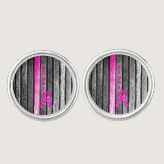 Fight Breast Cancer Cufflinks