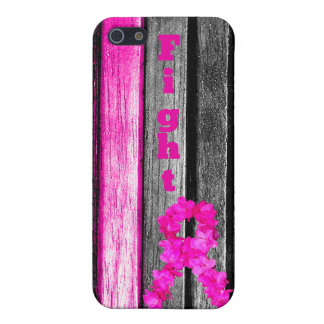 Fight Breast Cancer iPhone SE/5/5s Case