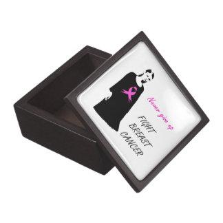 Fight breast cancer keepsake box