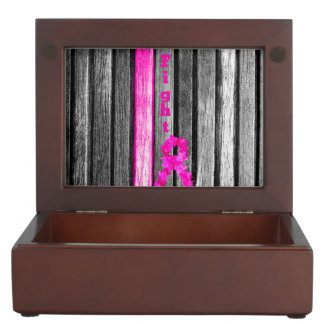 Fight Breast Cancer Memory Box