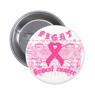 FIGHT BREAST CANCER PINBACK BUTTON