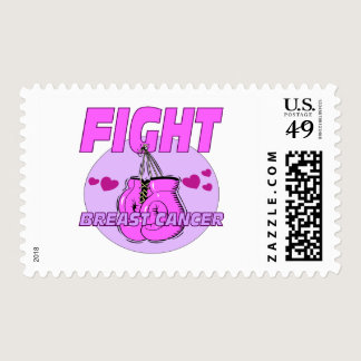 Fight Breast Cancer Postage