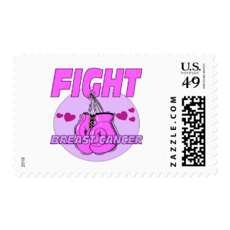 Fight Breast Cancer Postage Stamp