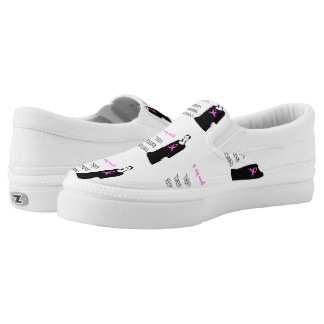 Fight breast cancer Slip-On sneakers