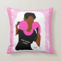 Fight Breast Cancer    Throw Pillow, 20x20 Throw Pillow