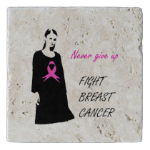 Fight breast cancer trivet