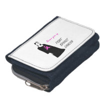 Fight breast cancer wallet