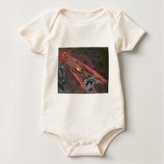 Fight by Walter Gramatte Baby Bodysuit