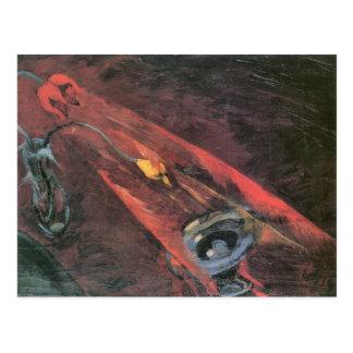Fight by Walter Gramatte Postcard