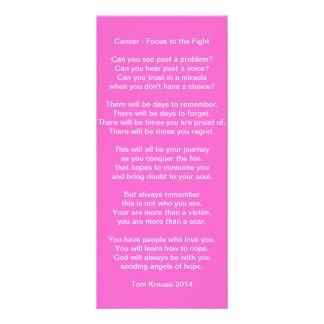 Fight Cancer Custom Rack Card