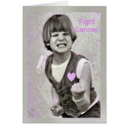 Fight Cancer encouragemet Card