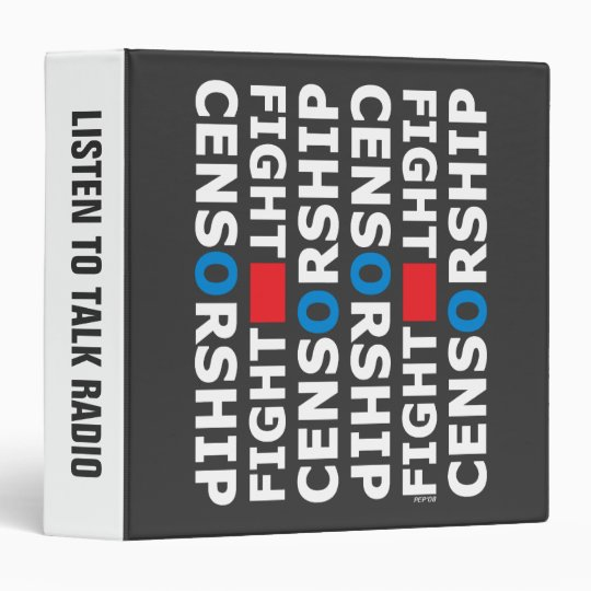 Fight Censorship 3 Ring Binder