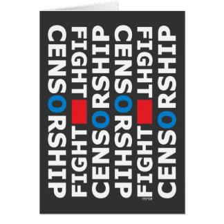 Fight Censorship Card