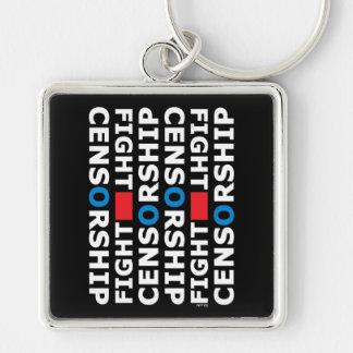 Fight Censorship Keychain