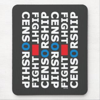 Fight Censorship Mouse Pad